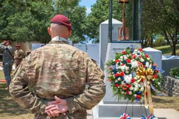 All American Week: Division Memorial Ceremony