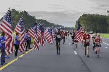 All American Marathon / Mike to Mike Half Marathon / All American 5K