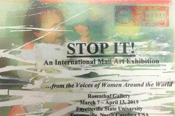 STOP IT! An International Mail Art Exhibition