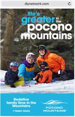 Winter 2015/16 – Online – DIYNetwork.com  - Pocono Mountains Visitors Bureau