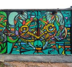 Commonwealth Mural en Houston