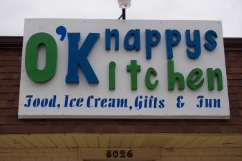 Lots of offerings at O'Knappy's Kitchen!
