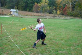 Throw an atlatl at the Fall Colors Festival at McCloud Nature Park on Oct. 20.
