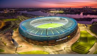Optus Stadium Judged World's Most Beautiful Stadium in International Awards