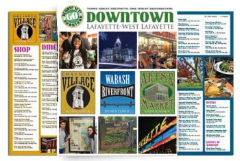 2018 downtown spring brochure cover