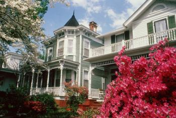 Exterior of a Historic Home