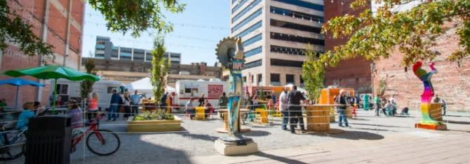 ICT Popup Park in Downtown Wichita