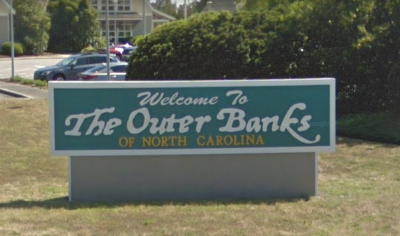Welcome to Outer Banks Sign
