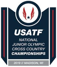 USATF Junior Olympic Cross County Championships Logo