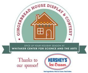 Gingerbread House Display & Contest at Whitaker Center 2019