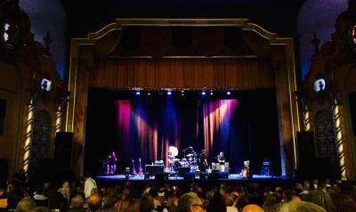 Inside of the Smith Opera House during a show