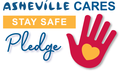 Asheville Cares Stay Safe Pledge