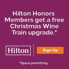Hilton Honors Members free upgrade