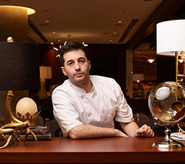 Valerio Pescetelli, Executive Chef, The Victor