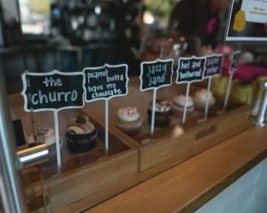 Kupcakerie's cupcake lineup