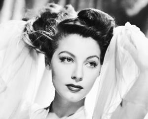 Ava Gardner photo of local Hollywood star from Smithfield, NC.