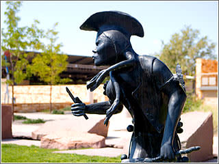 Sculpture at the Albuquerque Museum