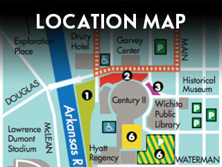 Riverfest Location Map Widget