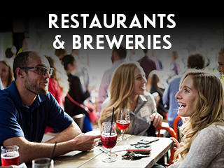Restaurants and Breweries Widget