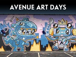 avenue art days, events in wichita ks, festivals and events in wichita, family friendly