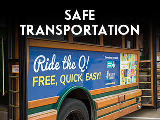 Safe Transportation Widget