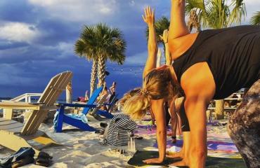 Tiki Tuesday Sunset Yoga