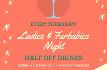 Ladies & Furbabies Night at Laguna's