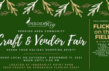 Perdido Holiday Craft and Vendor Fair & Flicks on the Field