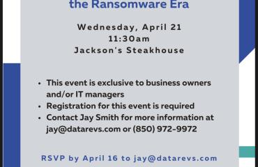 Protecting your Business in the Ransomeware Era