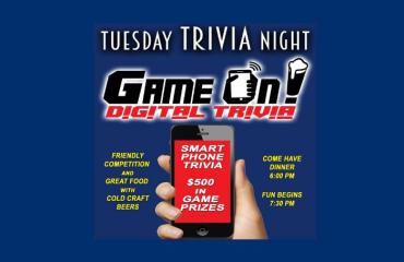 GAME ON! Digital Trivia Night