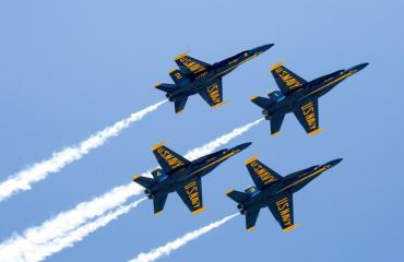 Blue Angels Practice, A Frisky Stop - Three Hour Scenic Bay Tour with Beach Stop