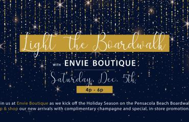 Light the Boardwalk with Envie Boutique
