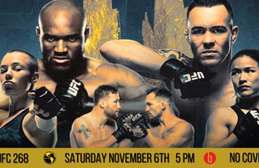 UFC 268 Usman v Covington Fight - NO COVER!