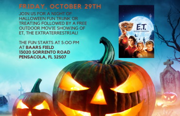 Perdido Key Chamber Halloween Edition Flicks on the Field and Trunk or Treating