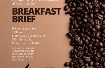 Perdido Key Area Chamber of Commerce Breakfast Brief