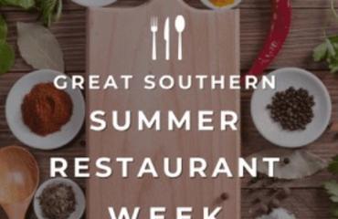 Great Southern Restaurants presents Summer Restaurant Week