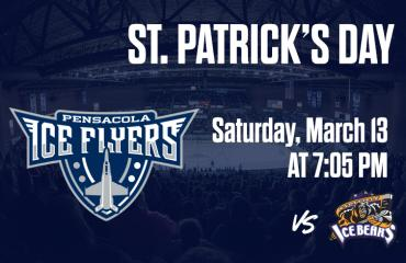 St. Patrick's Day - Pensacola Ice Flyers vs Knoxville Ice Bears