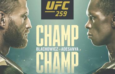 Blachowicz v Adesanya UFC Fight Night - No Cover