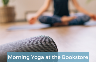 Morning Yoga at the Bookstore