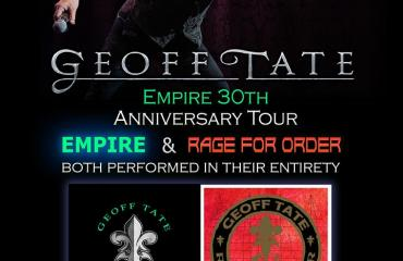 Vinyl Music Hall Presents Geoff Tate Empire 30th Anniversary Tour: Empire and Rage For Order in their Entirety with Till Death Do Us Part