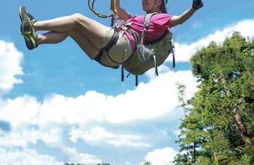$21 discount on all zip line tours - February 1 - March 15, 2021