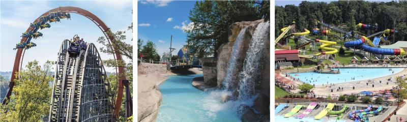 Holiday World & Splashin' Safari & Kentucky Kingdom Amusement Parks