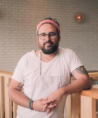 Chef Fermin Nunez at Suerte in Austin, Texas