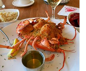 Lobster Pot in Providence Lobster Dish
