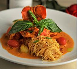 Capriccio in Providence Lobster & Pasta Meal