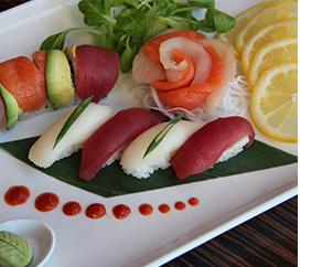 Ten Prime Steak & Sushi in Providence Sushi Meal
