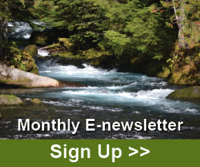 Monthly E-newsletter Sign Up Graphic
