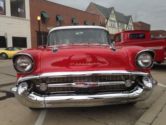 First Friday Cruise-In front of Chevrolet
