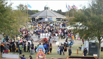 Lafreniere Park-A-Boo festival