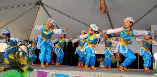 Asian Festival Dance